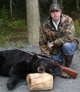 Darrell with Bear