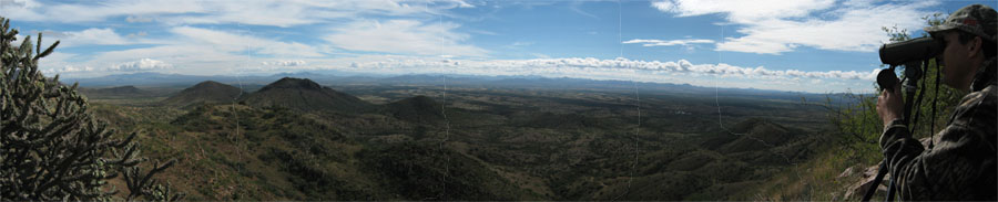 Panorama View of Arizona Mountains
